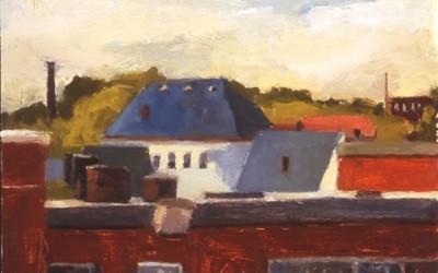Acre Rooftops:Hellenic School Triology-I
