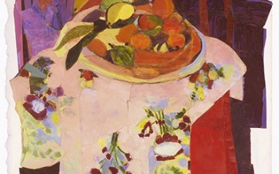 "After Matisse: ""Basket of Oranges"""