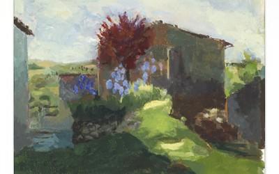Iris at Giagalto, Tuscany