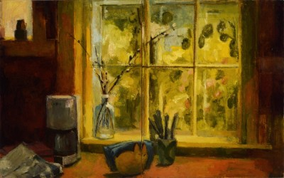 Kitchen Window, diptych