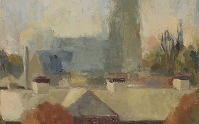 Fog Lifting, St. Patrick Steeple