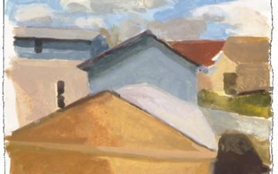Neighborhood View,Fall-I