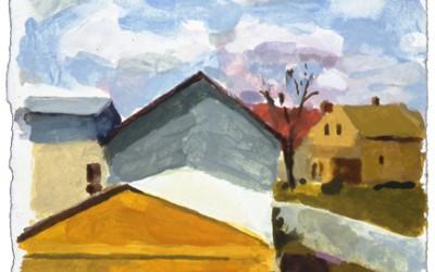 Neighborhood View,Fall-II