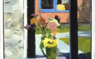 Summer Flowers at Studio Door