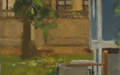 Backyard: Through Break In The Fence