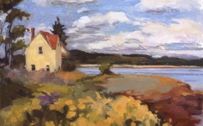 Yellow House on Passamaquoddy Bay, N.B
